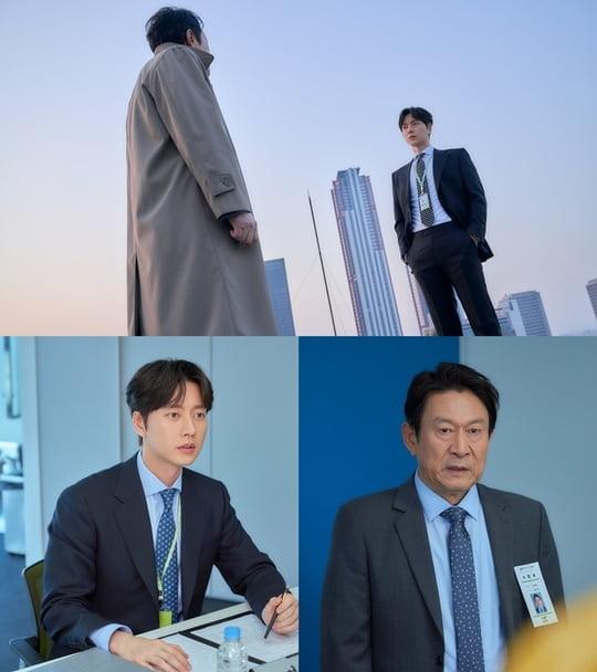 '꼰대인턴' 박해진과 김응수 (사진= MBC 제공)