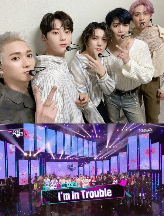 뉴이스트 (사진=플레디스엔터테인먼트, KBS2 '뮤직뱅크' 방송 캡처)