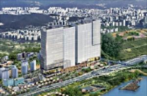 덕은 리버워크, 서울 접근성 탁월…21층규모 오피스 단지
