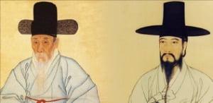 '예원의 총수' 강세황과 풍속화 대가 김홍도.