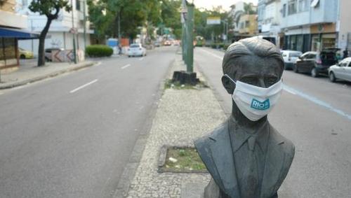 브라질 리우, 코로나19 사회적 격리 또 연장…도시봉쇄도 고려