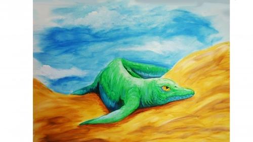 어룡의 뭉툭한 이빨이 풀어준 2억년 전 바다의 비밀