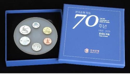 한은 70년 기념주화 발행량 3배 예약접수…27일 당첨자 발표