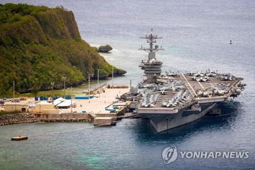 '코로나19 홍역' 미 핵항모 루스벨트호, 2개월만에 실전 배치