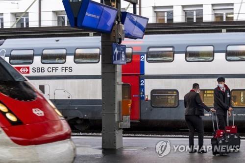 스위스 철도, 일부 객실 내 마스크 의무화 설문조사
