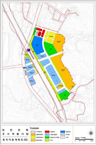 대전 연축지구 도시개발사업 본궤도에…도시개발구역 지정