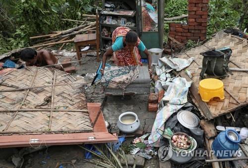 인도·방글라데시, 사이클론 '암판' 피해로 최소 95명 사망