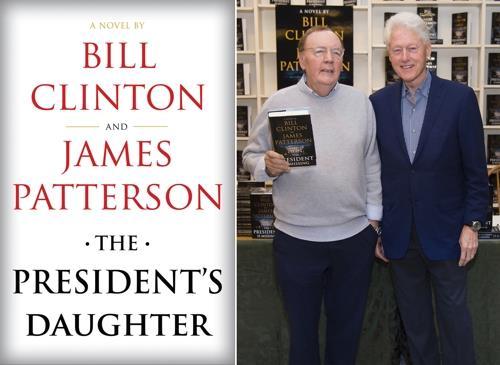 클린턴, 작가 패터슨과 두번째 소설 '대통령의 딸' 출간 예정