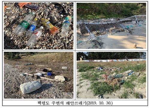 점박이물범 서식지 쓰레기로 '몸살'…해수부, 정화 활동