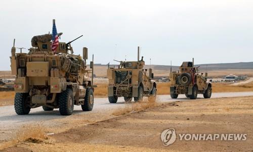 시리아 동부서 무장조직 기습공격에 미군 3명 부상
