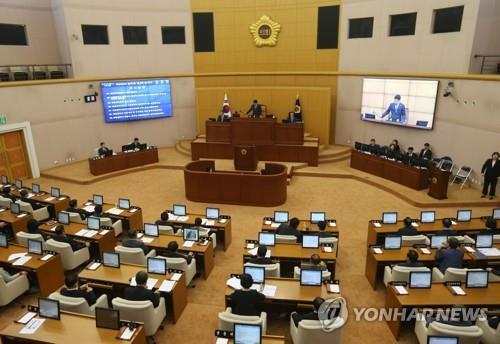 """""""의장 합의 추대한다더니""""…대전시의회 2년도 안돼 말바꾸기"""