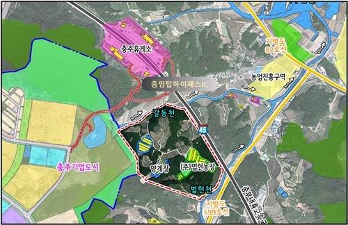 서충주 2곳에 산업단지 추가 조성…민관합동 개발