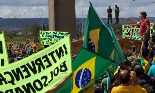 브라질 전·현직 군장성들, 군부 정치개입 촉구 시위 역풍 경고