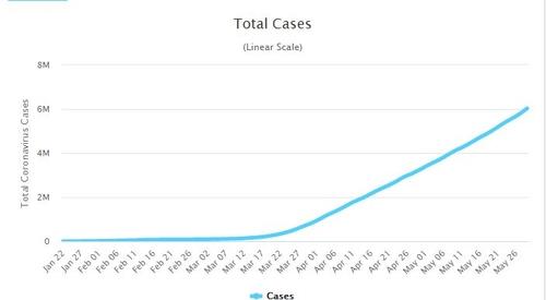 전세계 코로나19 확진자 600만명…진원은 미국·브라질·러시아