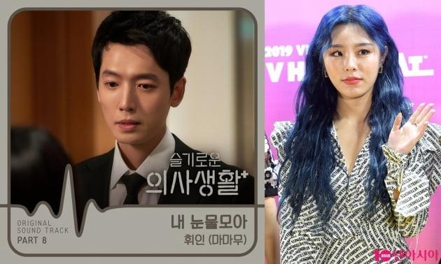 '슬기로운 의사생활' OST 휘인./ 사진=스튜디오 마음C, 텐아시아DB