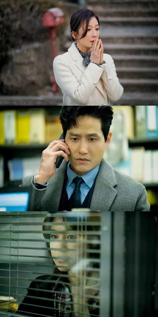 JTBC 금토드라마 '부부의 세계' 현장 스틸컷. /사진제공=JTBC