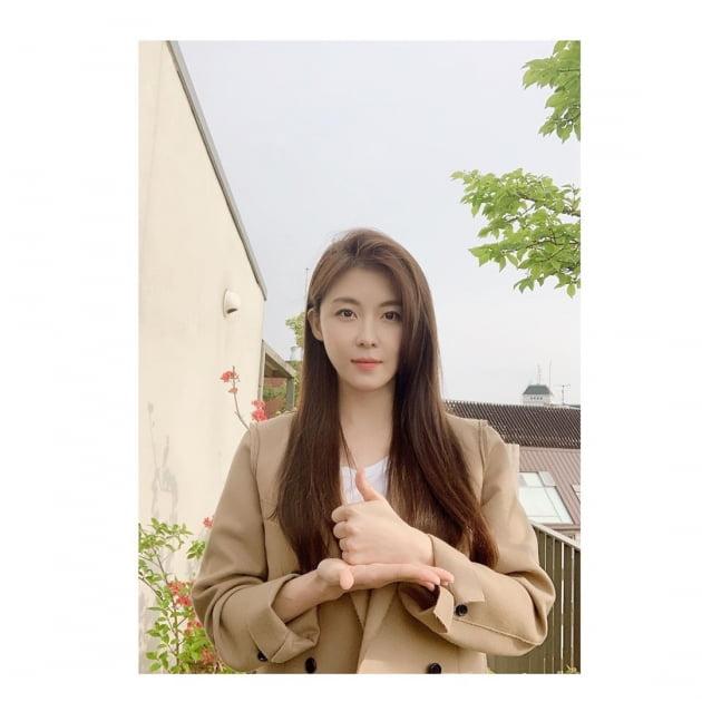 배우 하지원/ 사진= 하지원 인스타그램