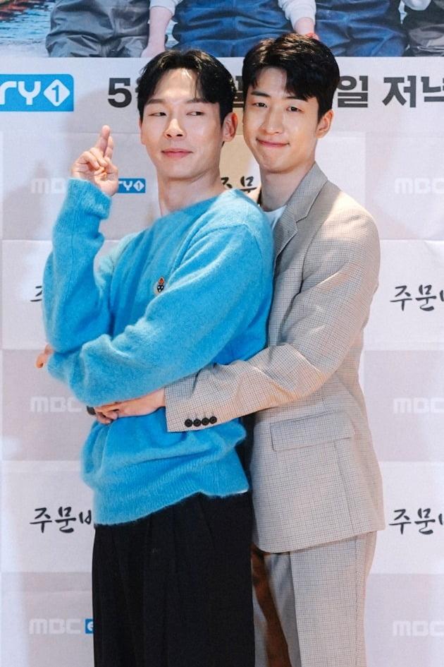 배우 양경원, 유수빈./사진제공=MBC에브리원