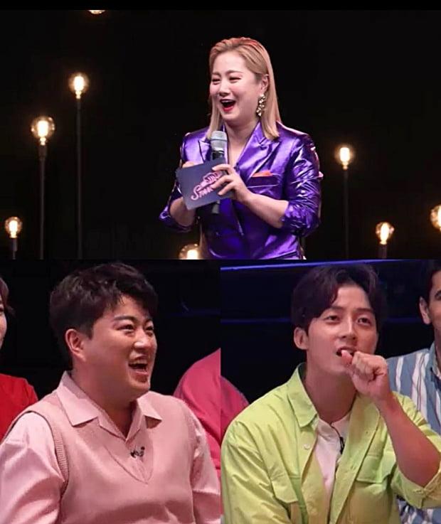 '스탠드업' 김호중, 허경환 / 사진=KBS2