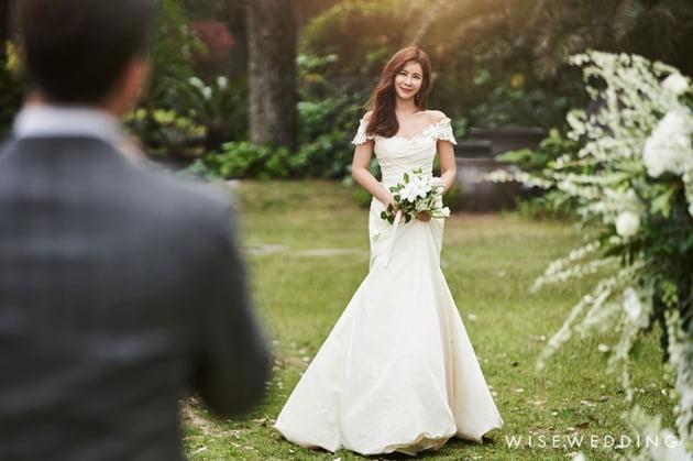방송인 김준희 결혼식 사진 / 사진제공=더써드마인드