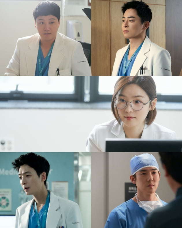 '슬기로운 의사생활' 의대 동기 5인방/ 사진=tvN 제공