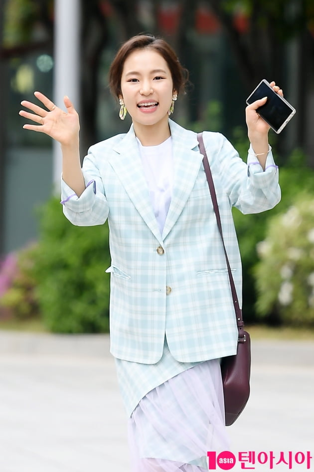 [TEN 포토] 홍자 '러블리지수 만렙'