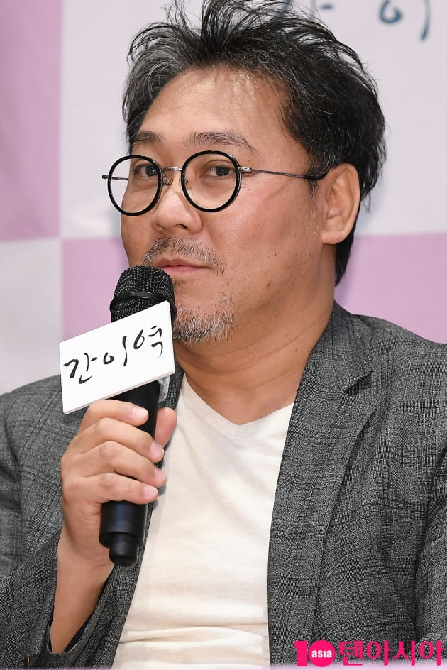 [TEN 포토] 영화 '간이역'의 김정민 감독