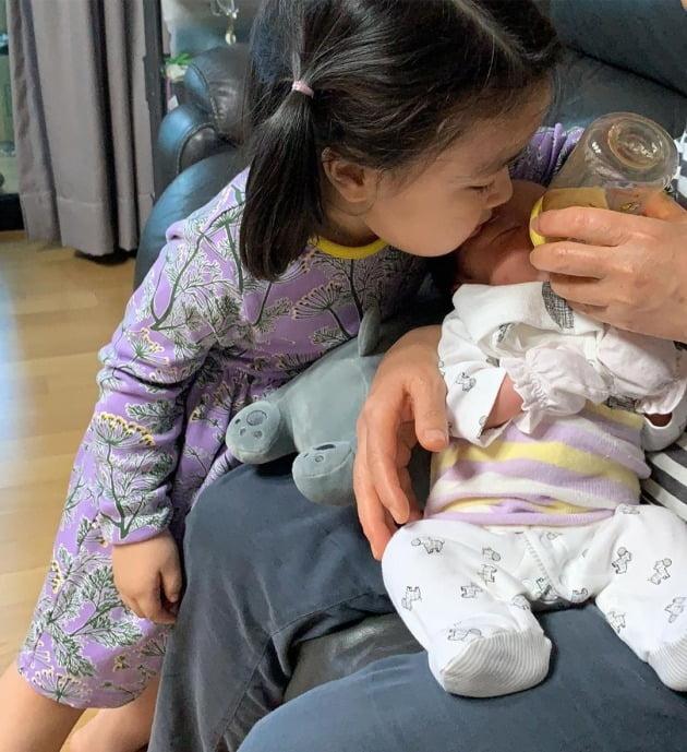 이윤지가 둘째 딸의 이름을 공개했다. / 사진=이윤지 인스타그램