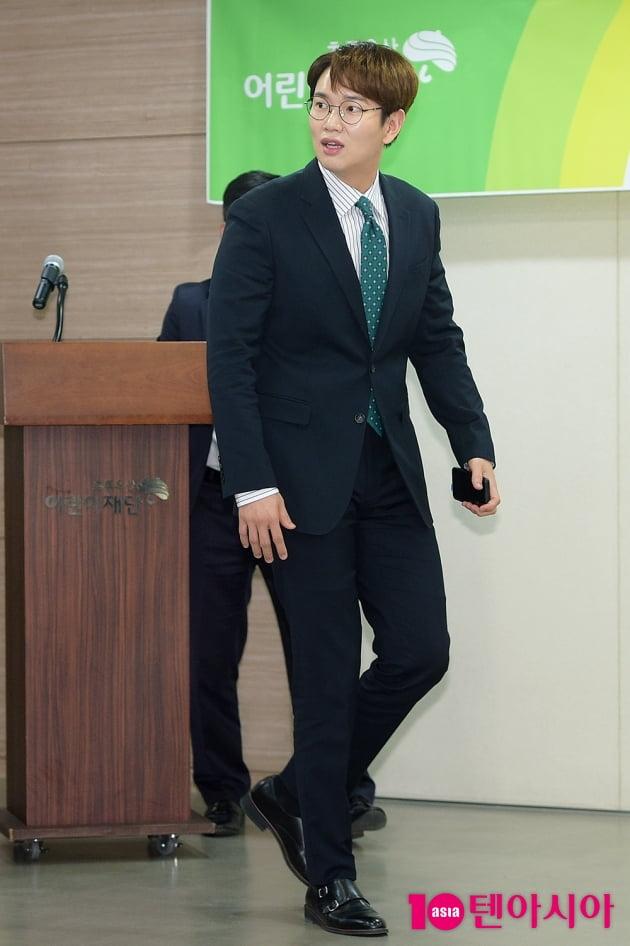 [TEN 포토] 장성규 '초록우산어린이재단 방문'