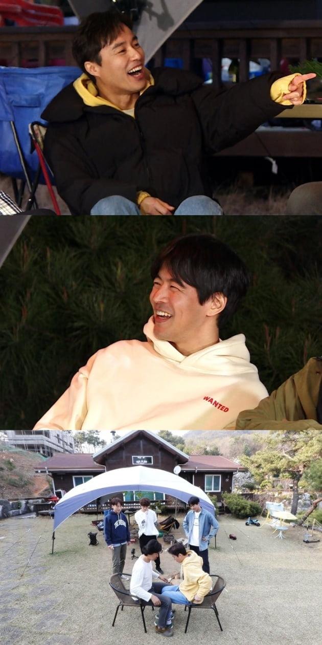 '미운 우리 새끼' 오민석 이상윤 / 사진 = SBS 제공
