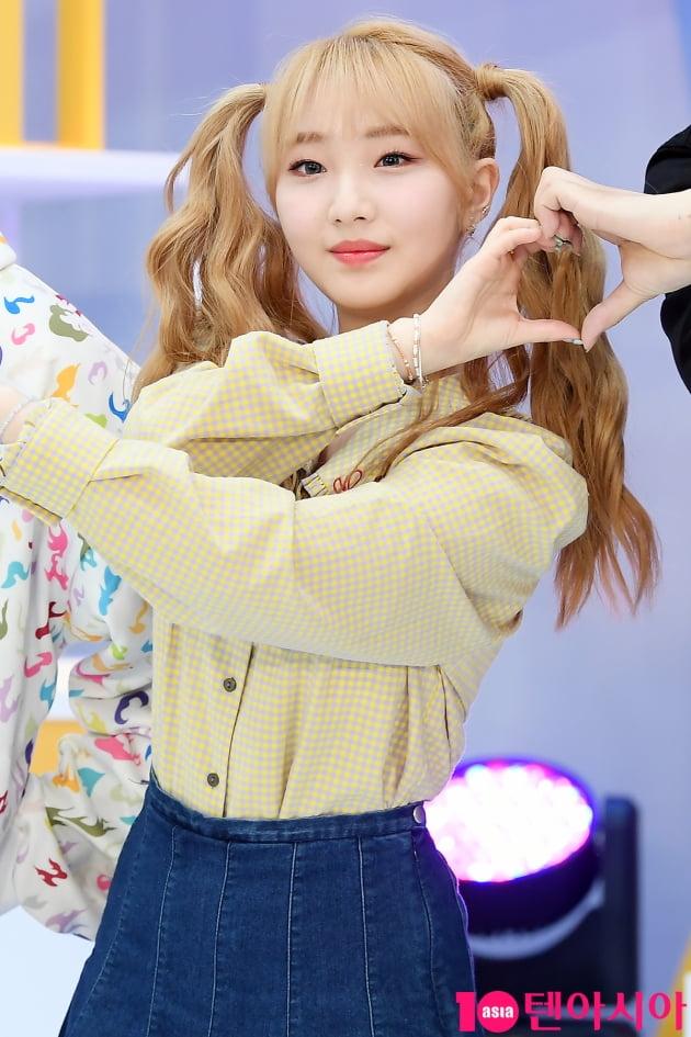 [TEN 포토] 이달의 소녀 여진 '너무 귀여워'