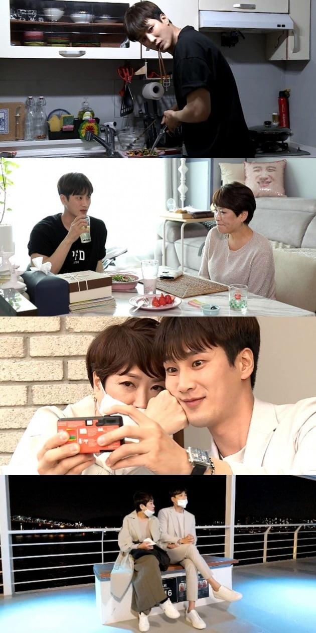 '나 혼자 산다' 안보현이 어머니와 데이트를 즐겼다. / 사진제공=MBC