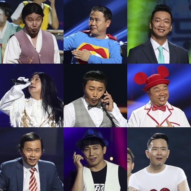 과거 '개그콘서트' 인기 코너 속 캐릭터들 /사진제공=KBS2