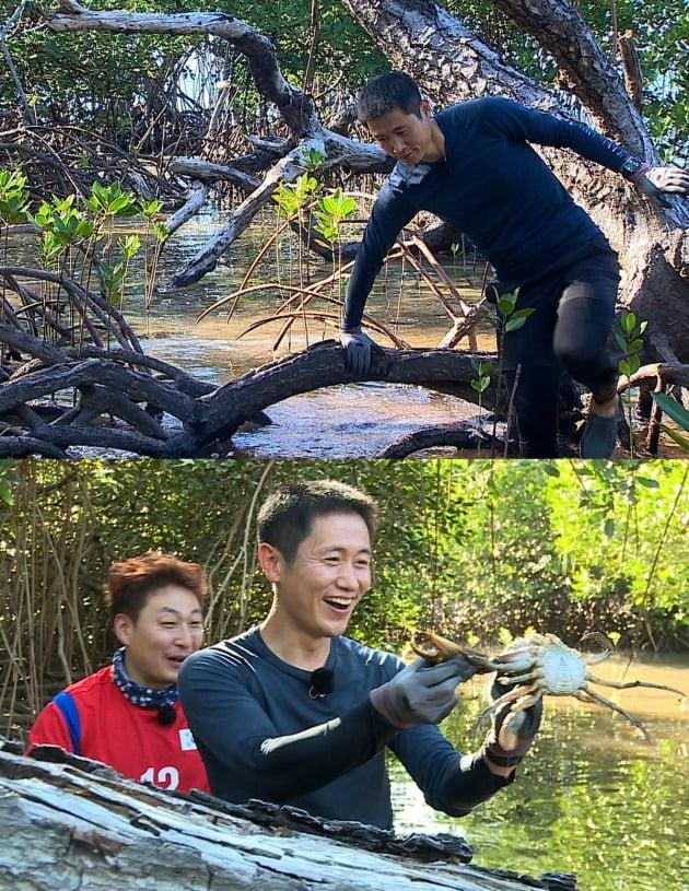 '정글의 법칙' 이영표 / 사진제공=SBS