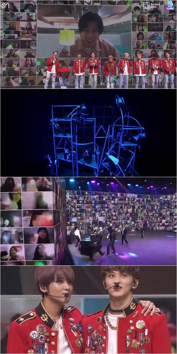NCT 127 '비욘드 라이브' 캡처.