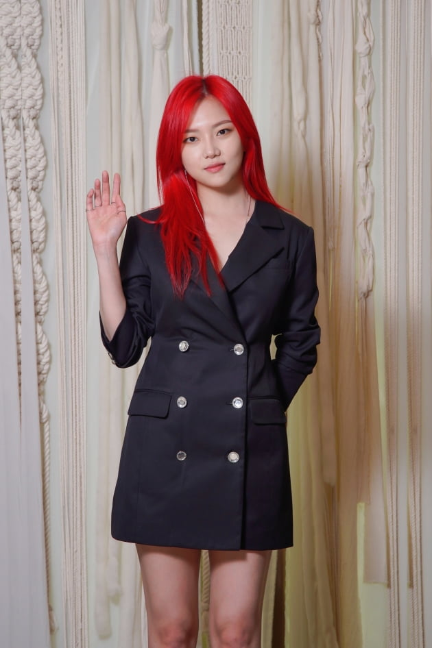 [TEN 포토] '쌍갑포차' 정다은, '빨강 머리로 시선집중'
