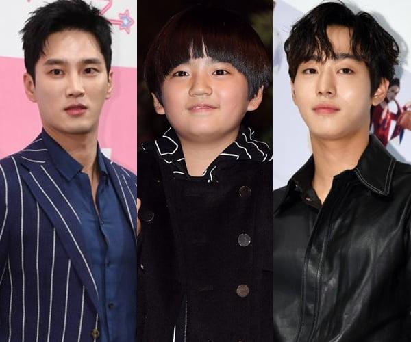 배우 안보현(왼쪽부터), 김강훈, 안효섭/ 사진=텐아시아DB