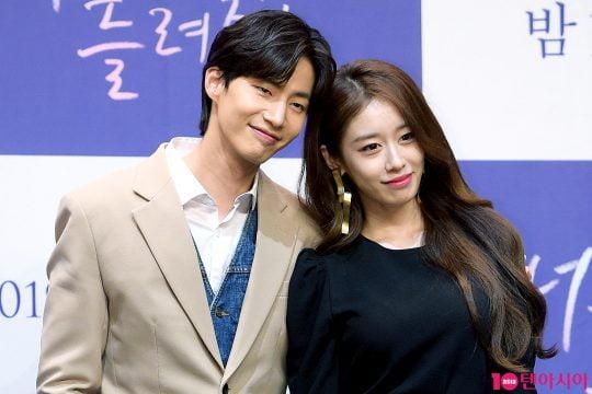 배우 송재림(왼쪽), 지연 / 사진=텐아시아DB