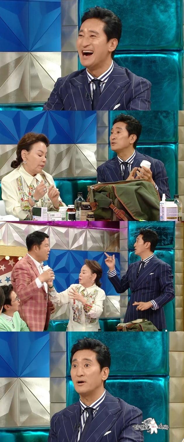'라디오스타' 신현준이 라이벌 정준호 못지않은 입담을 뽐냈다. / 사진제공=MBC