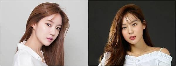 효민(왼쪽), 김희정./ 사진제공=써브라임 아티스트 에이전시