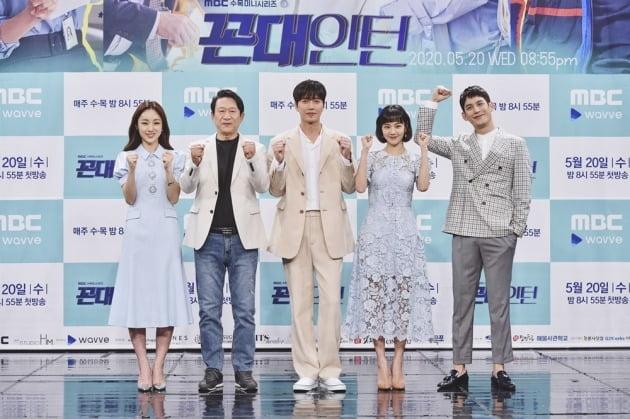 배우 박아인, 김응수, 박해진, 한지은, 박기웅./사진제공=MBC
