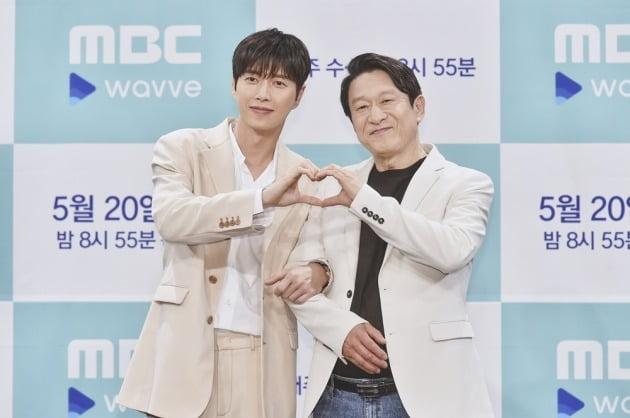 배우 박해진, 김응수./사진제공=MBC
