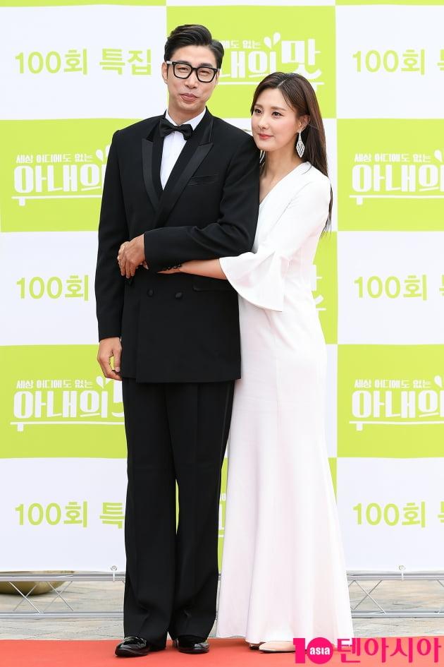 [TEN 포토] 김세진-진혜지 '빛이나는 커플'