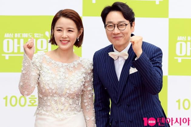 [TEN 포토] 이하정-이휘재 '아내의맛 파이팅~'