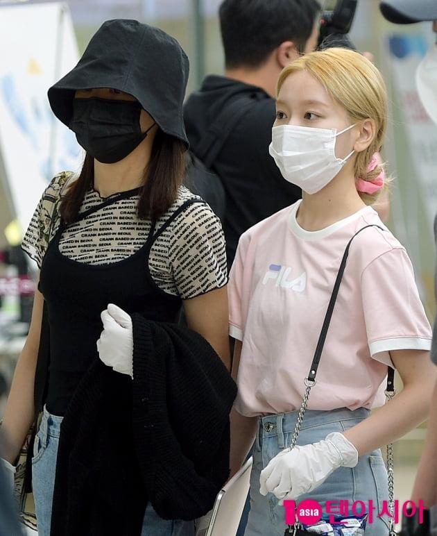 [TEN 포토] 이달의소녀 이브X고원 '거리 두기 싫은 사이'