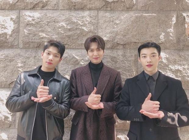 배우 이민호 인스타그램