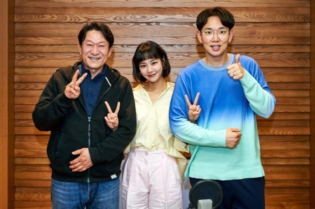 배우 김응수, 한지은, 방송인 장성규./사진제공=MBC '꼰대인턴'