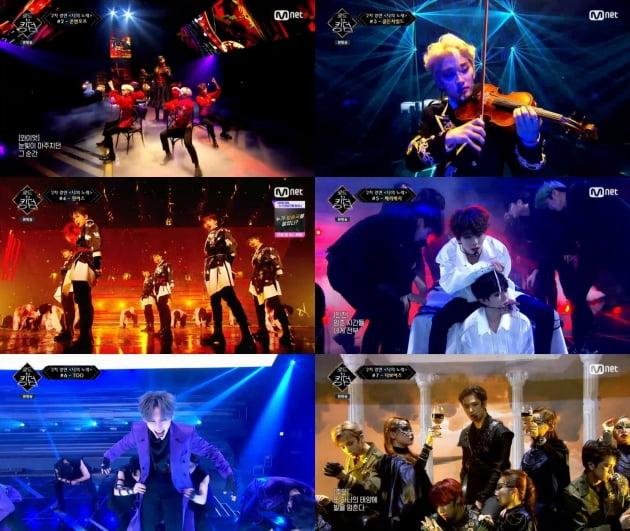 '로드 투 킹덤' 4회/ 사진=Mnet 제공