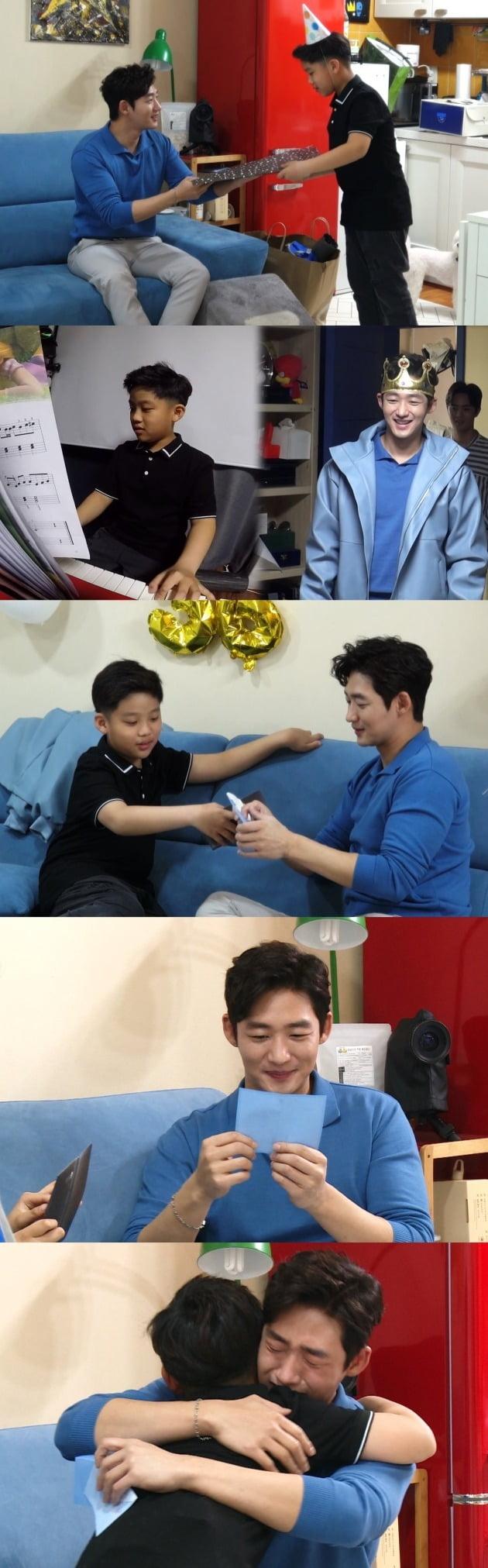 '미운 우리 새끼' 이태성의 아들이 아빠를 위해 깜짝 생일 파티를 준비했다. / 사진제공=SBS