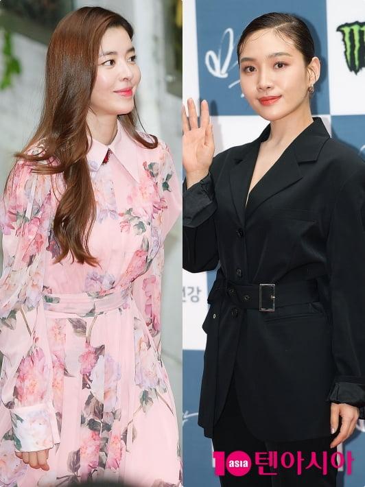 [TEN 포토] '들꽃영화상' 김규리X최희서, '개성 살린 러블리VS걸크러쉬 패션'